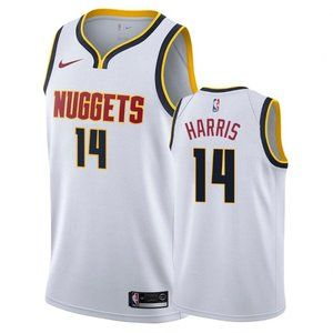 Denver Nuggets Gary Harris White Jersey